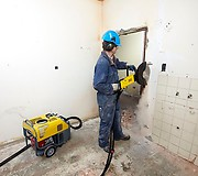 Гидростанция Atlas Copco LP 18-30 E в работе